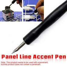 LBLA Model Panel linia akcent kolor specyficzne pióro unikaj szorowania infiltracja linia pióro DIY Hobby Model narzędzia do malowania akcesoria tanie tanio Z tworzywa sztucznego Roboty Dorośli E31384 Unisex
