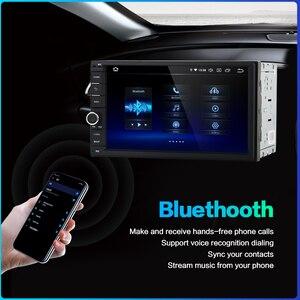 """Image 4 - داسايتا 2 الدين أندرويد 10.0 AutoRadio 7 """"العالمي سيارة لا تحديد مواقع لمشغل أقراص دي في دي ستيريو الصوت رئيس وحدة دعم DAB DVR OBD"""