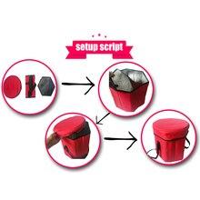 Многофункциональный изоляционный стул для хранения, сохраняющий тепло, охладитель, открытый табурет для кемпинга ASD88