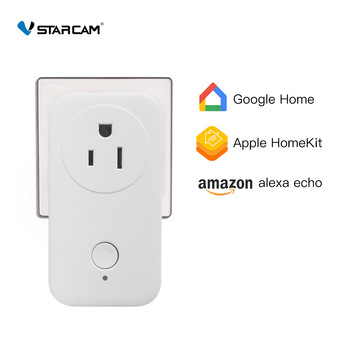 Vstarcam Smart Wifi Plug Remote Smart Wifi Socket Smart Power Outlet Smart home Smart Wifi Switch Supporting Apple Homekit цена 2017