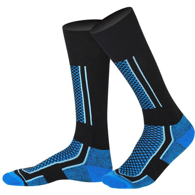 Men Women Skiing Socks Winter Outdoor Sport Snowboarding Hiking Ski Socks Cycling Soccer Warm Thicker Cotton Thermosocks