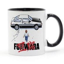 Fujiwara Initial D Akira Coffee Mug Ceramic Cup Gifts 11oz цена 2017