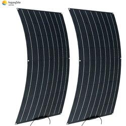 Солнечная панель 12В 100 Вт panouri solare Гибкая ETFE пленка моно солнечная батарея солнечная панель 12В 100 Вт 200 Вт 18В зарядное устройство