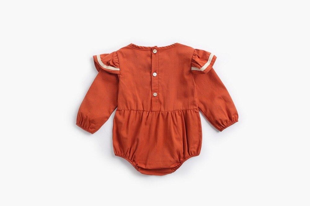 Цельная одежда для малышей; осенне-весенняя одежда с длинными рукавами для новорожденных; осенняя одежда в морском стиле