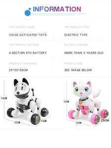 Interactive-Toys Robot Induction Voice-Dancing-Companion Smart Child Sound-Control-Toy