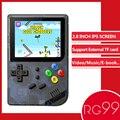 ANBERNIC RG99 Retro Spiel 99 video spiele Handheld Spiel Player Eingebaute 169 Klassische Spiele für Kind Nostalgischen Player wie RG300