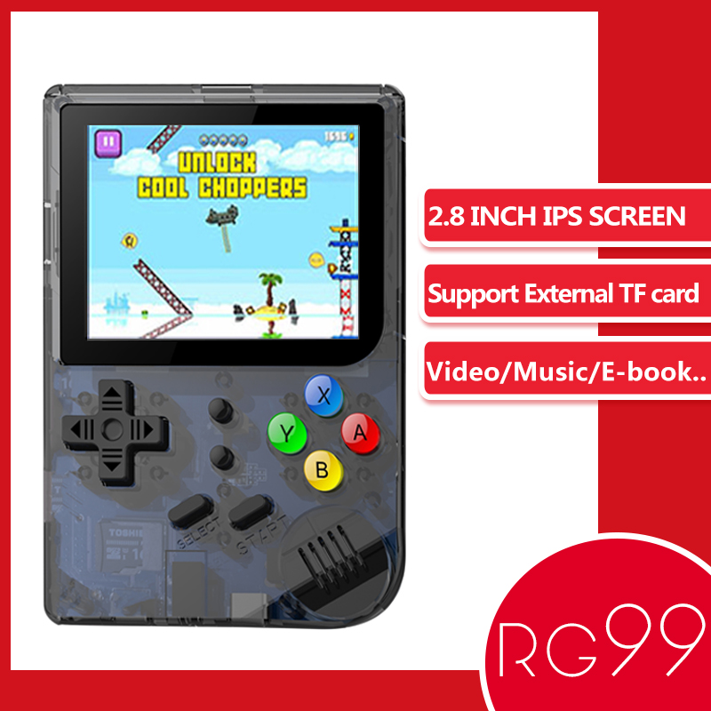 ANBERNIC RG99 Retro Game 99 Video Games Handheld Game Player Built-in 169 Classic Games For Child Nostalgic Player Like RG300