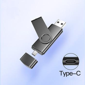 2 in 1 typec usb flash 4GB 16GB 32GB 64GB 128gb  Usb Flash Drive memory stick Pendrive drive for type c charge phone