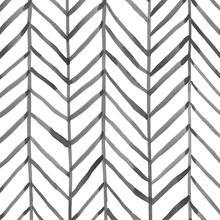 LUCKYYJ Modern Stripe Peel and Stick Wallpaper Herringbone Black White Vinyl Self Adhesive Contact Paper Home Decoration Sticker