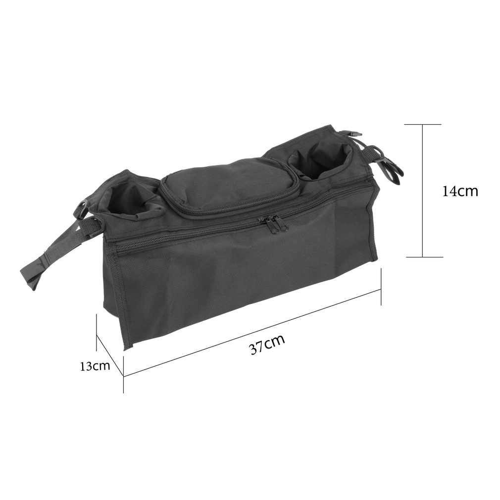 Cup bag Baby Stroller Organizer Baby Carriage Pram Buggy Cart Carrinho Bottle Bags  for Bottles Cups Paper Towels