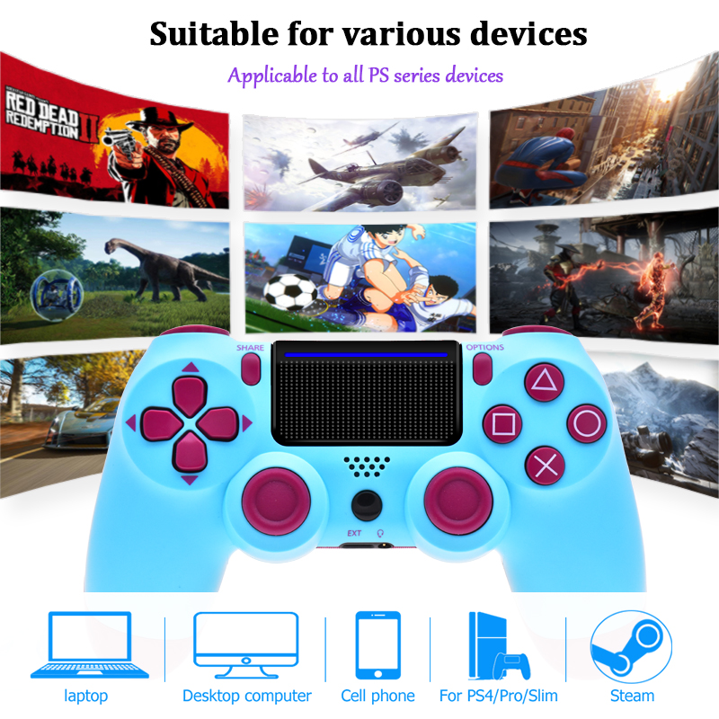 lowest price Gamepad For PS4 Controller Bluetooth Dualshock 4 Joystick For Mando PS4 For PS4 Console Play station 4 For PS4 Controller