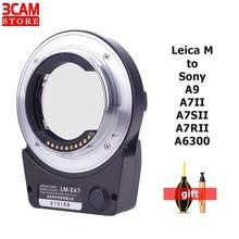 TECHART LM EA7 Adapter AF Adapter obiektywu automatyczne ustawianie ostrości Adapter do obiektywu Leica M do aparatu Sony NEX A7RII A6300 A9 A7SII