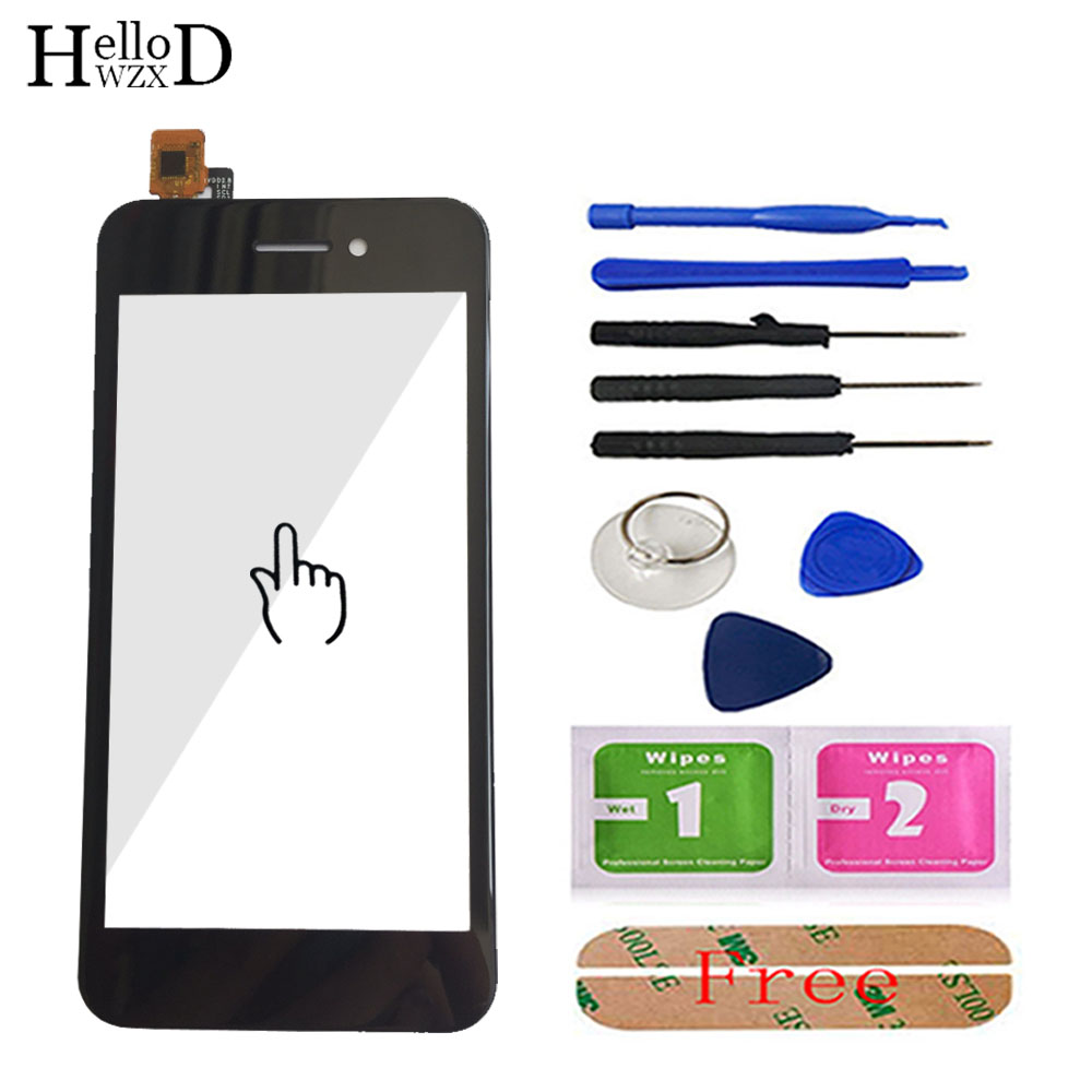 Touch Screen For Fly FS459 Nimbus 16 Touch Screen Digitizer Panel Front Glass Sensor Touchscreen 4.5'' Mobile Phone Tools