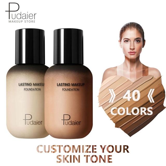 Pudaier Face Foundation Makeup Liquid Foundation Cream Matte Foundation Base Face Concealer Cosmetic Dropshipping Makeup 5