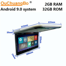 Roof-Mounted Flip-Down Overhead Ouchuangbo-Car Android 1080P for with Usb-Hdmi-1920x1080