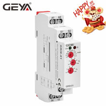 Free Shipping GEYA GRI8-01 Current Monitoring Relay Current Range 8A 16A AC24V-240V DC24V Overcurrent Protection Relay(China)