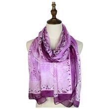 silk chiffon shawls scarf vintage paisley scarves long echarpes stole sarongs beach summer women tippet printed