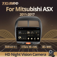 TIEBRO 2DIN Android 9,0 Auto Radio Für Mitsubishi ASX 2010-2017 Citroen C4 Peugeot 4008 Auto DVD GPS Navigation multimedia-Player