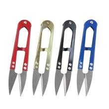 Decorative Scissors Steel 1pcs Clippers U-Shape High-Quality New