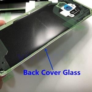 Image 5 - S8 Original Habitação Porta Da Bateria Tampa Traseira de Vidro de Substituição Para Samsung Galaxy S8 G950 G950F G950FD SM G9500 + Cola À Prova D Água