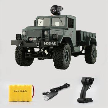 FY001A 2.4G Military Car Simulation Four-wheel Drive Climbing Car 30W Wi-Fi Camera Real-time Transmission Military Car