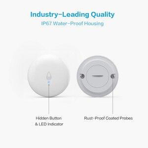 Image 4 - Глобальная версия датчика погружения воды Aqara, детектор утечки воды, сигнализация, датчик безопасности замачивания для Xiaomi Mijia Mi home