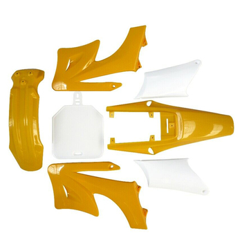 Guardabarros de plástico para moto de cross, color amarillo, para Apollo Orion 125cc-150cc Atomik