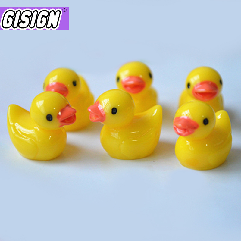 10pcs Duck All Additives For Slime Charms Polymer Clay Plasticine Decor Set Filler Slimes Supplies Toys For Children Antistress