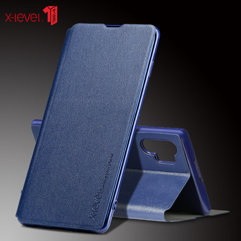 X-Level Business-Case Samsung Note10 For Galaxy Pro Fundas Flip Folding-Stand-Cover Fashion
