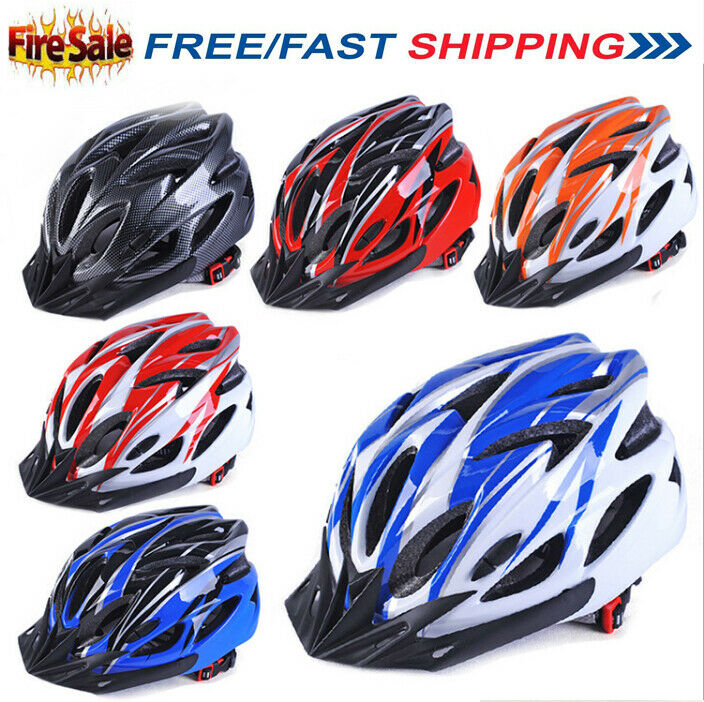 Bicycle Helmet Mountain Bike Cycling Adult Adjustable Unisex Safety Helmet