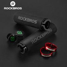 ROCKBROS los esponja ciclismo apretones de manillar de bicicleta Anti-amortiguadora de deslizamiento de absorción de ciclismo agarre Ultraight bicicleta de montaña Ultraight agarre