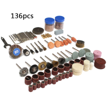 136pcs Professional Multi-Function Electric Grinding Rotary
