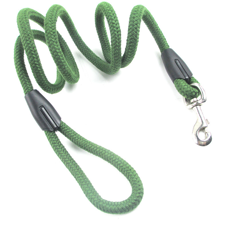Lu Pet New Products Parachute Material Hand Holding Rope Army Green Sky Blue And Pull Resistance Bite Resistant Medium-sized Dog