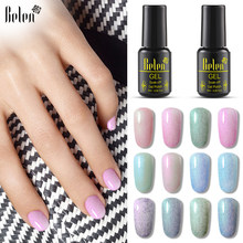 Belen Furcoat Shell Bulu Imitasi UV Nial Gel Polish Semi Permanen Cat Gellak Hybrid Beruntung Pernis Lacquer Base Top Primer(China)