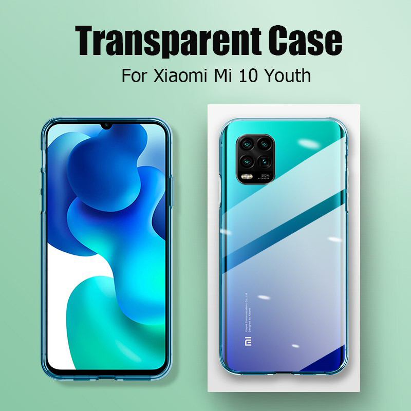 For Xiaomi Mi 10 Youth 5G Case High Quality Slim Soft Transparent High Clear TPU Phone Cases For Xiaomi Mi 10 Lite Zoom 5G Cover