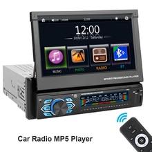 GPS Navigation Car-Radio Touch-Screen Auto-Audio Bluetooth 1-Din TF USB 7-Mirror-Link