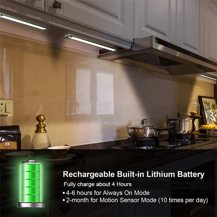 70 LED PIR Motion Sensor Under Cabinet Light 15