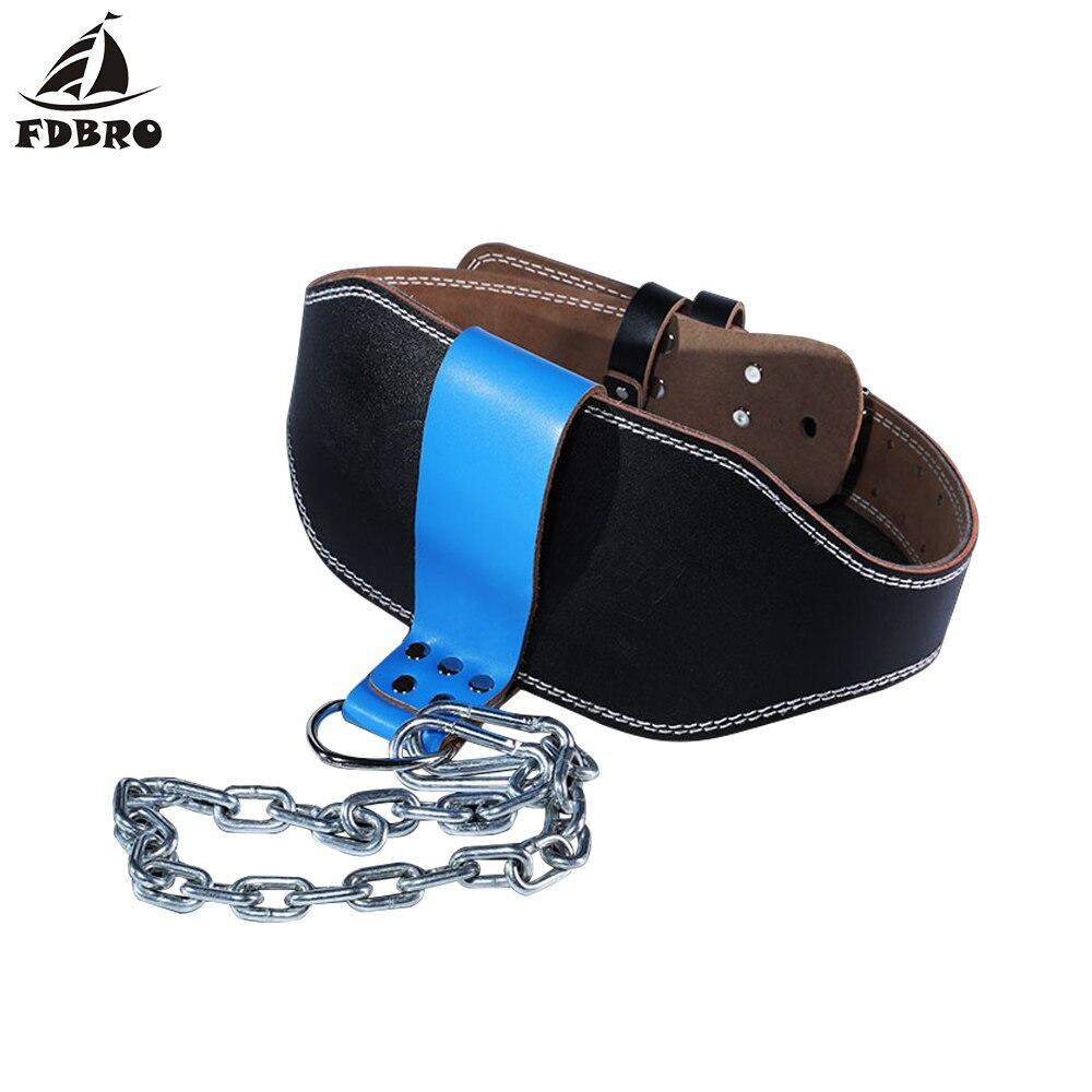 Ремень из яловой кожи FDBRO, ремень для тяжелой атлетики с кольцом цепочкой, для силовых тренировок, тренажерного зала, штанги для поднятия тяжестей|Тяжелая атлетика|   | АлиЭкспресс