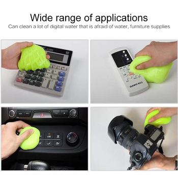 High-Tech Magic Dust Cleaner Compound Super Clean Compound Slimy Gel For Car Phone Laptop Keyboard Household Cleaning Tool