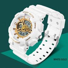 Часы наручные sanda мужские светодиодные брендовые цифровые