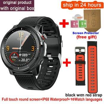 L15 Smart Watch Men 1.3inch Full-fit Round Retina Display Music Control Camera Flashlight PK L5 L9 Smartwatch IP68 Waterproof 7
