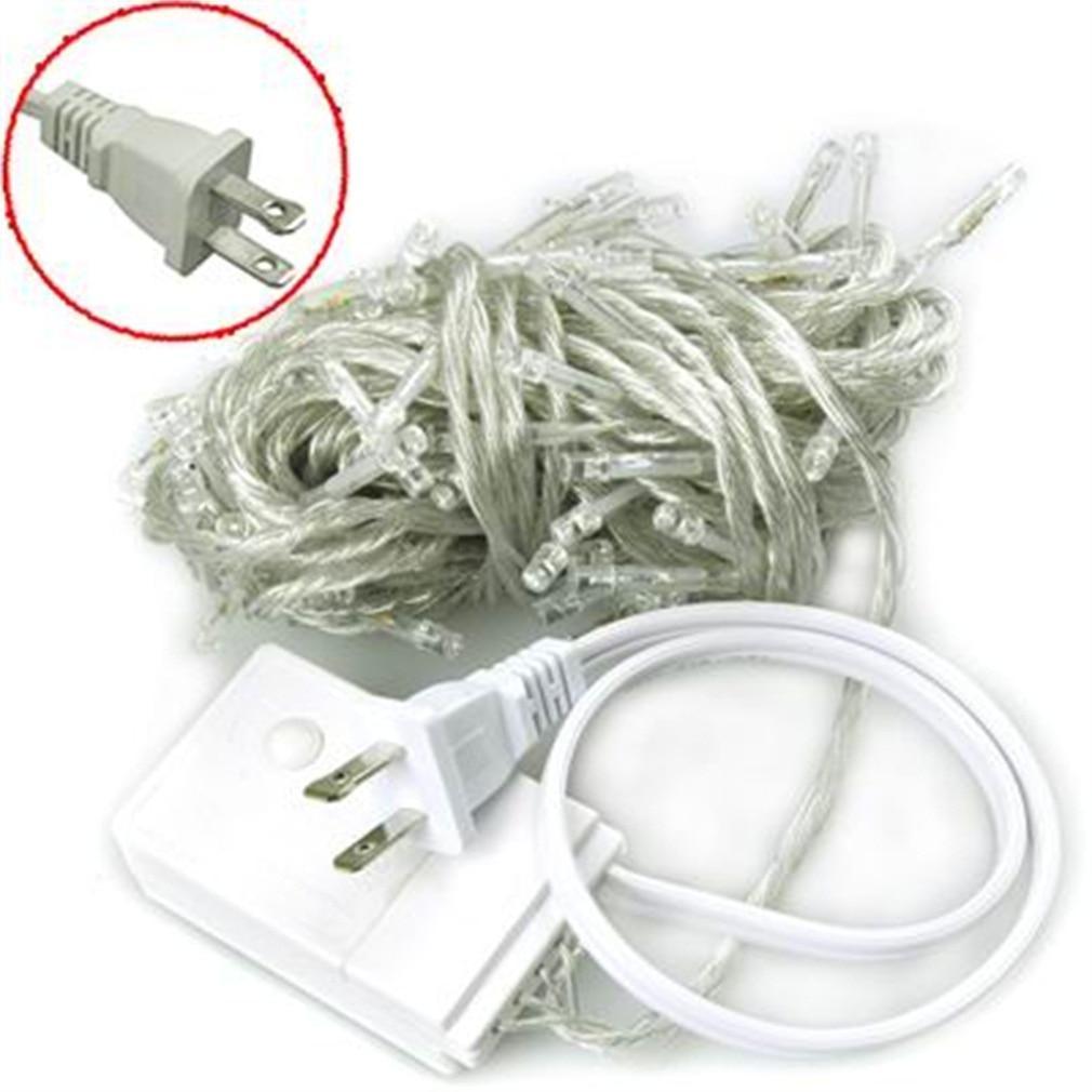 100 LED 12M Green String Fairy Lights 8 Modes Party Christmas Garden Valentines Wedding Decoration IP44 UK Plug