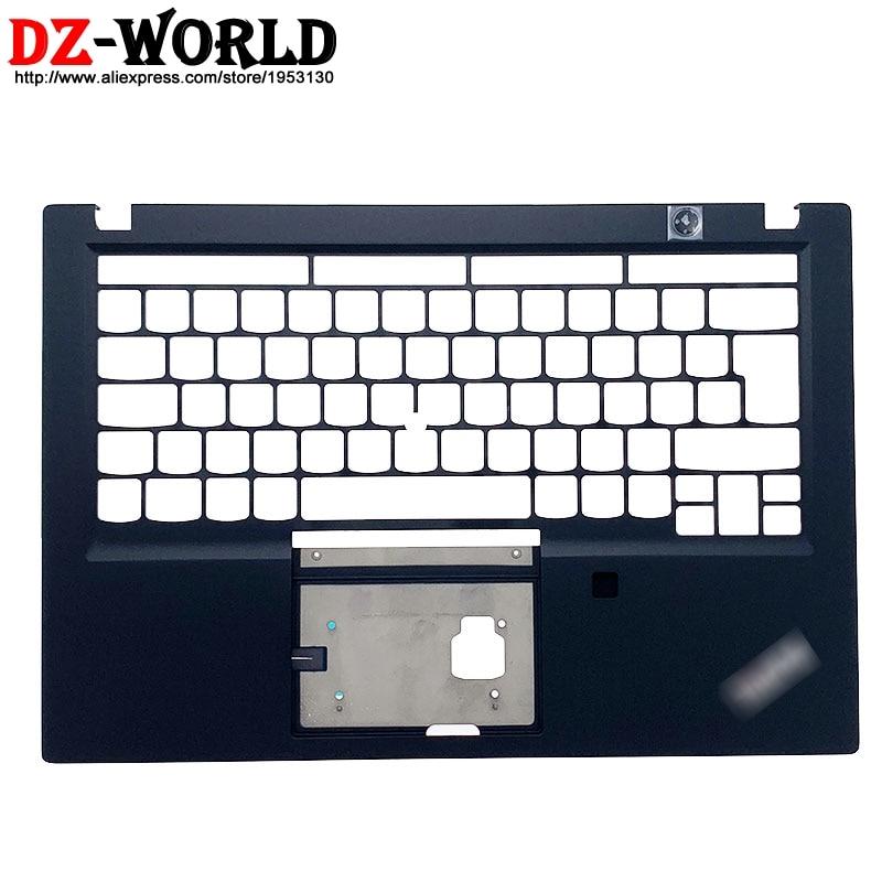 Nova versão original do reino unido teclado moldura palmrest c capa superior caso escudo para lenovo thinkpad t490s t495s portátil sm10q26226