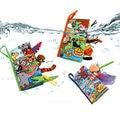 Детские книги Монтессори 0-12 месяцев, игрушка для малышей, Обучающие ресурсы, Мягкая тканевая книга с животными и хвостом для детей, подарок ...