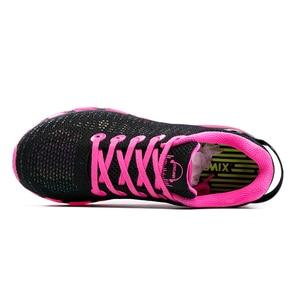 Image 5 - Женские беговые кроссовки ONEMIX, Женская легкая Светоотражающая сетчатая разноцветная уличная спортивная обувь для бега и прогулок