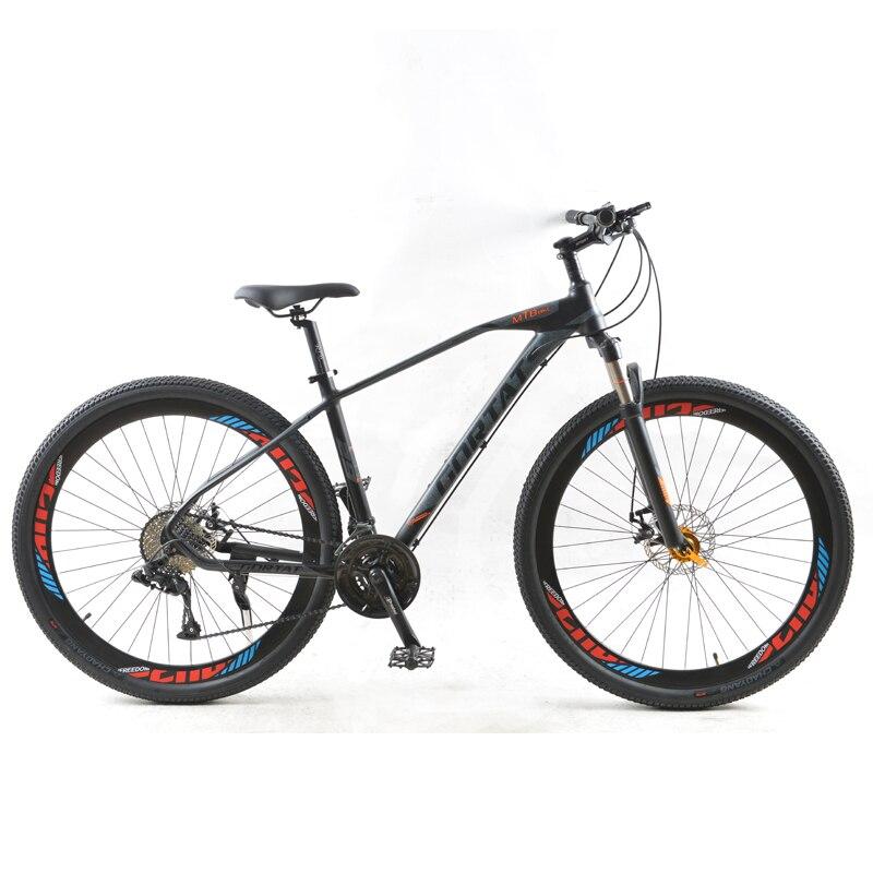 Горный велосипед GORTAT, 29 дюймов, шоссейные велосипеды, 30 скоростей, рама из алюминиевого сплава, переменная скорость, двойные дисковые тормоз...