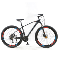 Bicicleta de Montaña GORTAT, bicicleta de carretera de 29 pulgadas, marco de aleación de aluminio de 30 velocidades, frenos de disco dobles de velocidad Variable, bicicletas