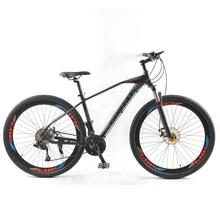 Gorwat freio a disco duplo para bicicleta, quadro de liga de alumínio de 29 polegadas, velocidade variável, bicicleta de montanha e estrada