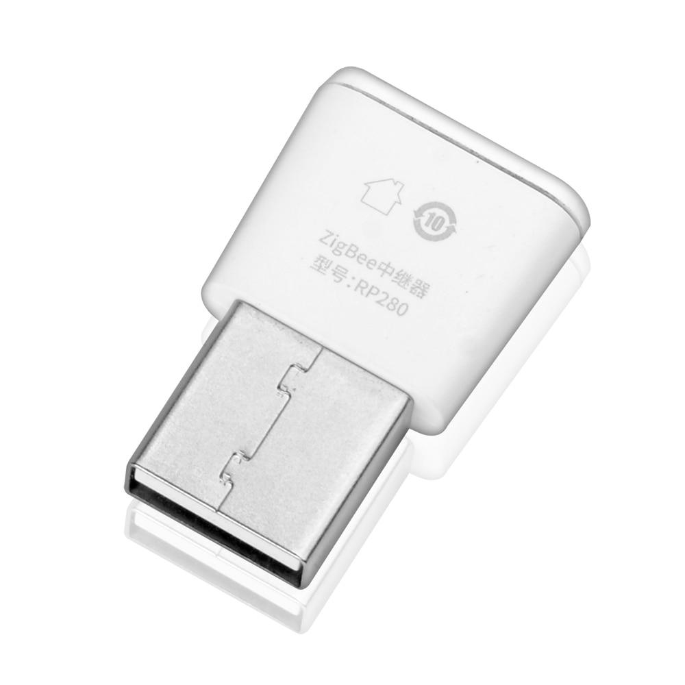 Lonsonho Tuya Zigbee Signal Repeater USB Zigbee Hub Signal Expand 20-30M Smart Home Automation Module 3