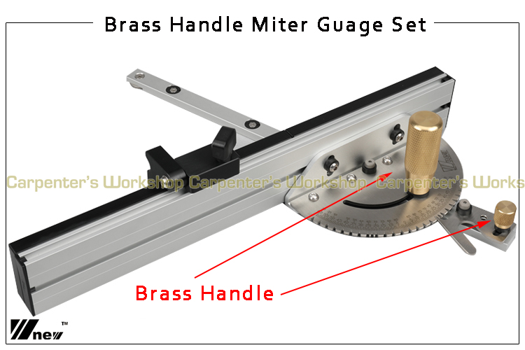 home improvement : Miter Gauge Wood Dowels and Box Joint Jig Kit with Adjustable Flip Stop